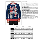 "Tipsy Elves Men's Ugly Christmas Sweater - Happy Birthday Jesus Sweater Green 18 ""****LAST CHANCE! Order Today and Save with our Lowest Priced Deals of the Holiday Season. While supplies last!****"" Tipsy Elves' ugly christmas sweaters are perfect for gifting to all of your friends but most importantly, yourself! Whether you're inside, outside, together or apart, or even stuck in a virtual meeting, whenever you rock your Tipsy Elves gear no one will ever doubt the ferocity of your festive fury. Tipsy Elves' hilariously ugly sweaters are a perfect gift this holiday season, why wait to share the love when you and your friends and family can make everyone laugh with one of our funny sweaters. Whether you're celebrating and matching in person or just catching up online, Tipsy Elves' hilarious holiday clothing will keep everyone looking cozy and warm!"