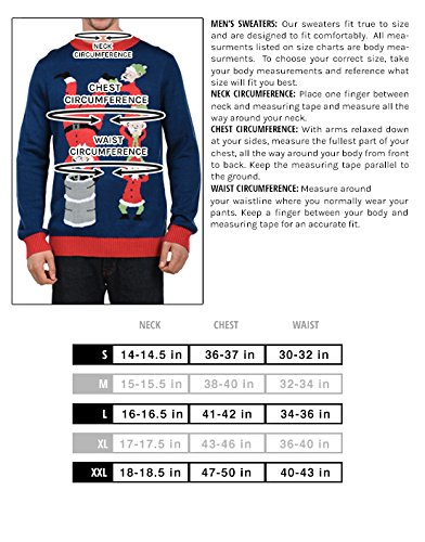 "Tipsy Elves Men's Ugly Christmas Sweater - Happy Birthday Jesus Sweater Green 9 ""****LAST CHANCE! Order Today and Save with our Lowest Priced Deals of the Holiday Season. While supplies last!****"" Tipsy Elves' ugly christmas sweaters are perfect for gifting to all of your friends but most importantly, yourself! Whether you're inside, outside, together or apart, or even stuck in a virtual meeting, whenever you rock your Tipsy Elves gear no one will ever doubt the ferocity of your festive fury. Tipsy Elves' hilariously ugly sweaters are a perfect gift this holiday season, why wait to share the love when you and your friends and family can make everyone laugh with one of our funny sweaters. Whether you're celebrating and matching in person or just catching up online, Tipsy Elves' hilarious holiday clothing will keep everyone looking cozy and warm!"