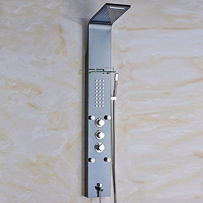 ZHFC304 edelsthlen schwarze bad, dusche, dusche mit seife rack - europischen stil