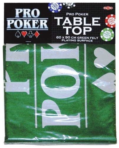 Piatnik 03096 - Panno copritavolo per Poker, 60 x 90 cm [Importato dalla Francia]