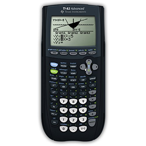 Texas Instruments TI 82 Advanced Calculatrice Graphique avec mode examen