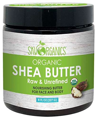 Organic Unrefined African Shea Butter