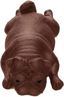 CMrtew BookShine 1PCS Mini Cute Mochi Squishy Dog Squeeze Healing Kids Kawaii Toy Stress Reliever Decor Animal Noverty Toys Anti Stress (Brown, 14cm)