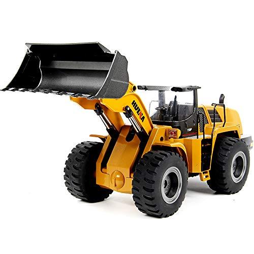 RC Baufahrzeug kaufen Baufahrzeug Bild 1: s-idee® 18168 Metall Radlader 1:14 Profi mit Sound und Licht die Cast rc Modell Huina 583 1583*