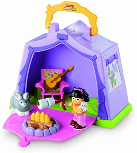 Fisher Price W1518 Little People Camping Spielset ++++ NEU & OVP ++++