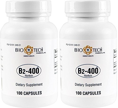 Biotech Pharmacal B2-400 Riboflavin 100 x 2