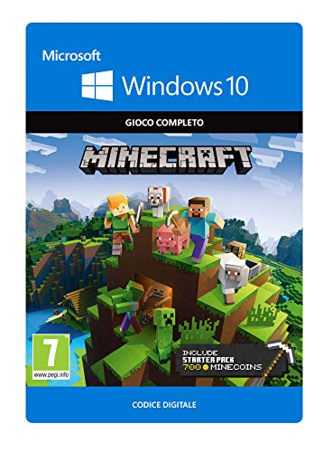 Minecraft Windows 10 Starter Collection | Download Code