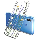 Oihxse Wildflower Floral Case Compatible with Xiaomi Mi 5C,