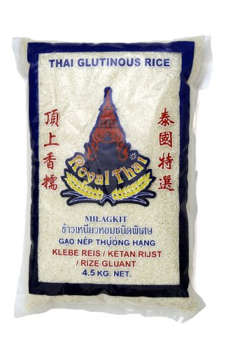 Royal Thai Thai Klebereis 4,5kg