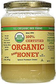 YS Organic Bee Farms CERTIFIED ORGANIC RAW HONEY 100% 3Pack (32 oz Each )