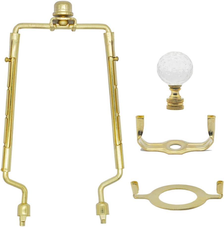 7 8 9 10 Virginia Beach Mall Max 81% OFF inch Lamp Harp F Shade Adjustable Gold Holder