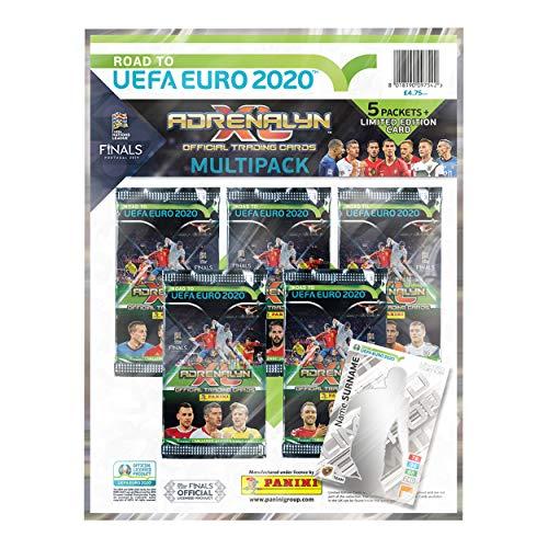 Panini 1 Road To Euro 2020 Adrenalyn XL Multipack Negro, 1