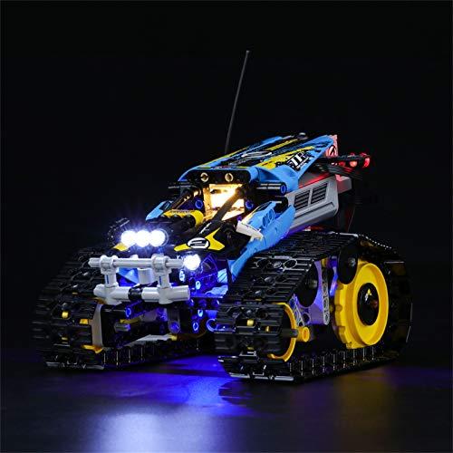 LIGHTAILING Conjunto de Luces (Technic Vehículo Acrobático a Control Remoto) Modelo de Construcción de Bloques - Kit de luz LED Compatible con Lego 42095 (NO Incluido en el Modelo)