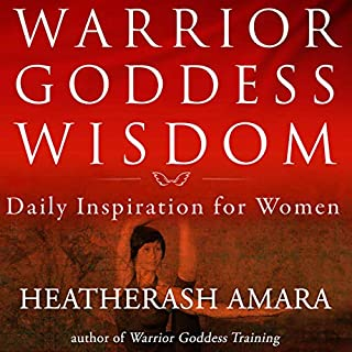 Warrior Goddess Wisdom audiobook cover art
