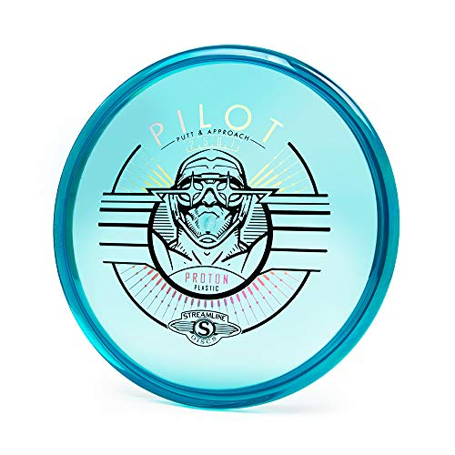 Streamline Discs Proton Pilot Putter Golf Disc [Colors May Vary] (170-175g)