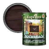 Cuprinol 5 Year Ducksback 5 L Forest Oak - Tintes para maderas de exterior (En vallas y cercados, Shed, 5 L, 5 m²/L, Forest Oak, Al agua, Translúcido)
