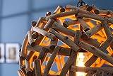 Massive Hängeleuchte PURE NATURE I 40cm Treibholz Handarbeit Pendelleuchte Esszimmerbeleuchtung Hängelampe - 5