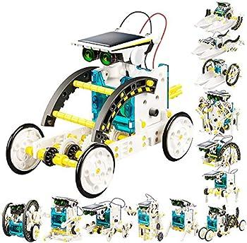 CAPKIT 13-in-1 STEM Solar Robotics Kit