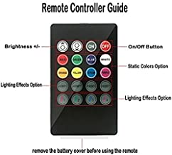 Wsiiroon Remote for Car LED Strip Light