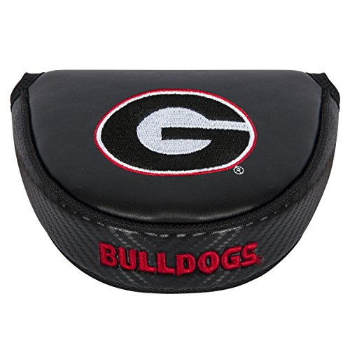Team Effort NCAA Georgia Bulldogs Mallet Putter Coverblack Mallet Putter Cover, Black, NA