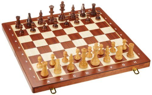 Philos 2611 - Schachkassette, Feld 50 mm, Königshöhe 90 mm