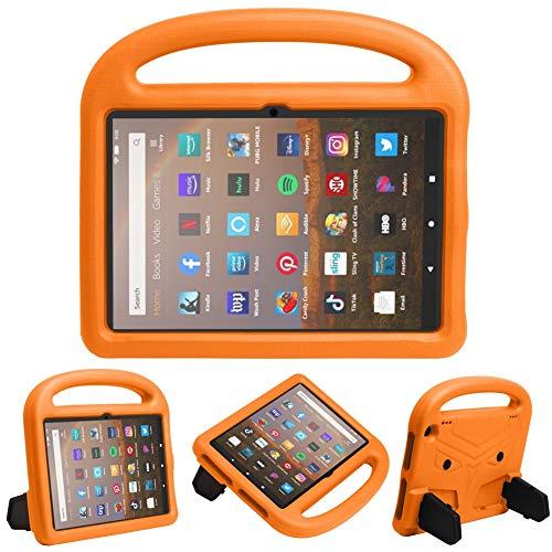 HHF Pad accesorios Para Amazon Fire HD 8/8 Plus 2020, EVA Niños Caja a prueba de golpes de choques de la manija ligera de la tableta protectora para niños cubierta de concha para Amazon Fire HD 8/8 Pl