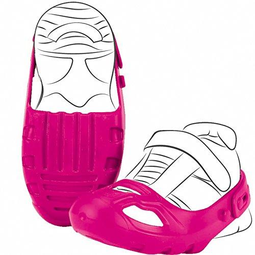 Unbekannt Bobby Car Schuhschoner Pink für Schuhgröße 21-27 • Schuh Schoner Schuhschützer Größe Rutscher