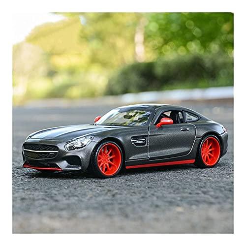 LXLN Coches de Juguetes 1:24 para Me-rcedes para AMG GT, Vehículos Deportivos Fundidos A Presión, Modelo De Coche, Juguetes, Modelo De Coche, Escala De Aleación, Fundido A Presión