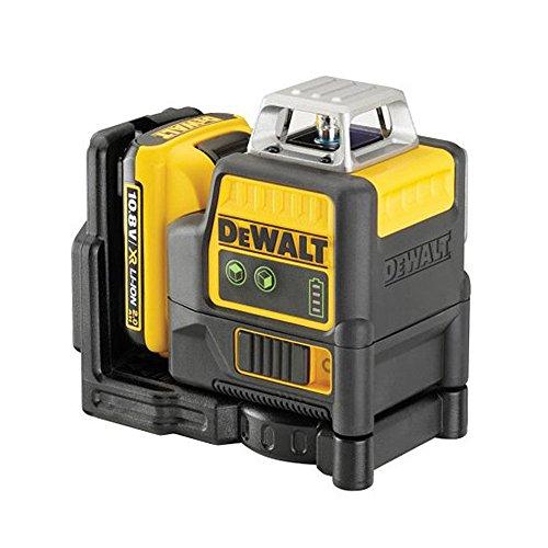 Dewalt DCE0811D1G-QW - Láser autonivelante 2x 360º. Incluye batería DW 10,8V Litio - VERDE