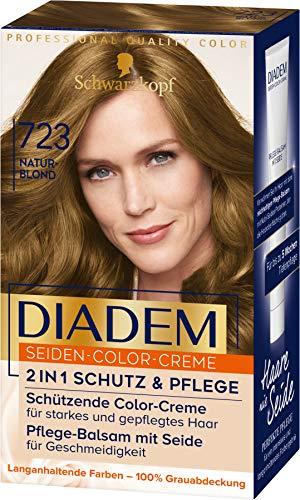 Diadem Seiden-Color-Creme 723 Naturblond Stufe 3, 3er Pack(3 x 170 ml)