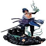 LINRUS Sasuke Uchiha Figuras Naruto,Funko Pop Naruto Shippuden Anime Naruto Figures Toys, Anime Figu...