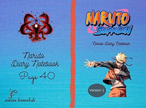 Notes book Naruto: Notes book Naruto page 40 (English Edition)