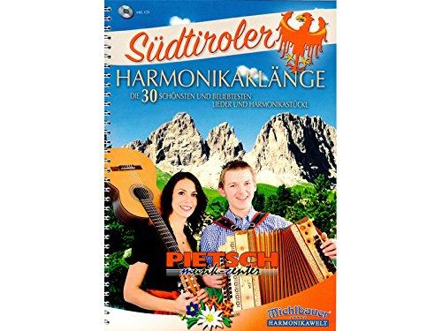 Michlbauer Harmonikawelt, S�dtiroler Harmonikakl�nge, incl. CD