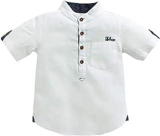 TONYBOY Boys' Plain Regular Fit Shirt