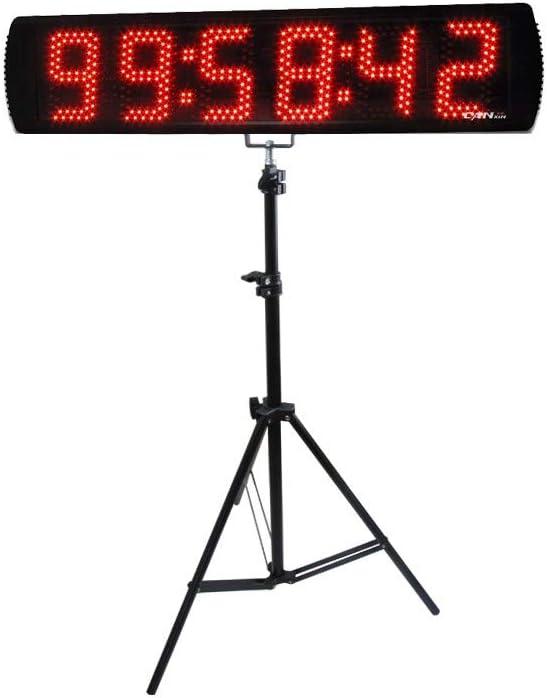 Ganxin 5 ☆ popular App-Control 5 Inch Popular 6-Digit LED Clock with Timer Running T