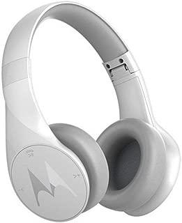 (Renewed) Motorola Pulse Escape Wireless Bluetooth Headphones (White)