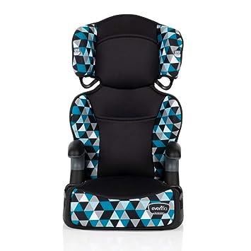 Evenflo Big Kid Highback 2-in-1 Belt-Positioning Booster Car Seat, Boston Blue: image