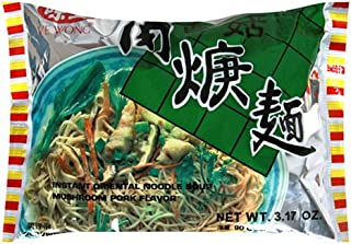 Ve Wong Instant Noodle, Pork & Mushroom, 3.17-Ounce Packages (Pack of 30)