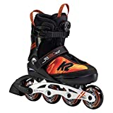 K2 Inline Skates SK8 HERO BOA ALU Für Jungen Mit K2 Softboot, Black - Orange, 30F0118
