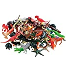 U.S. Toy Pretend Play Animal Figures Assortment / 104 Pcs.
