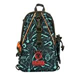 KINGDOM Fishing Tackle Backpack Large Storage Backpack for Trout Fishing Outdoor Sports Camping Hiking