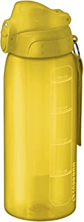 Squeeze 750Ml com Tubo de Gelo, Soprano, 0540, Amarelo, Pequeno