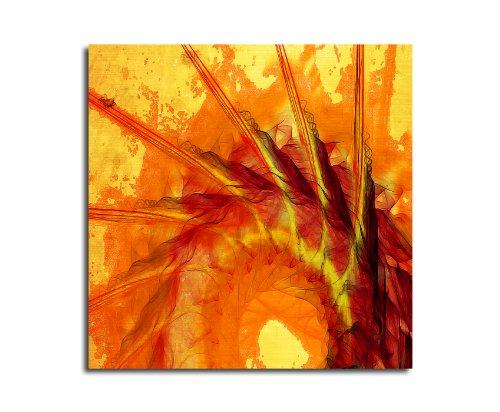 Moderne abstrakt014_60 x 60 cm sur toile motif abstrait intérieur décoration indémodable, 047