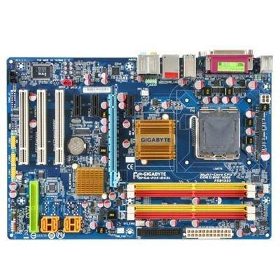 Gigabyte GA-P35-DS3L Core2 P35 DDR2 SATA2 PCIE&PCI 8 Channels Audio ATX Motherboard