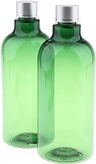 F Fityle 2Pcs Bottiglie di Stoccaggio per Shampoo per Lozione Da Viaggio in PET Vuote Prive di BPA Contenitori Riutilizzab...