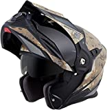 ScorpionExo EXO-At950 Unisex-Adult Flip-Up-Style Battleflage Helmet (Sand, XX-Large)