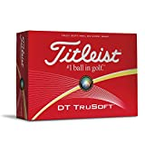 Titleist DT Trusoft Prior Generation Golf Balls, White (One Dozen)