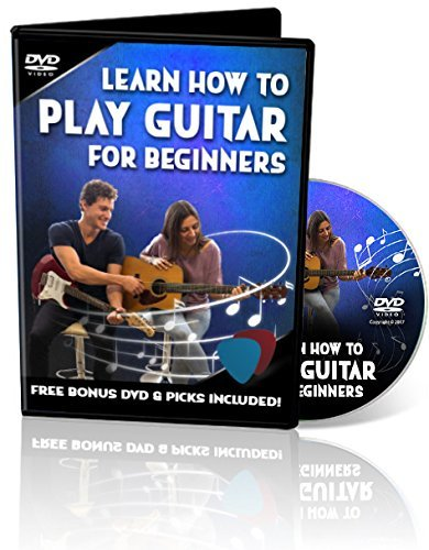 Learn How to Play Guitar - Plus Bonus Guitar DVD & Free Picks