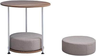 Michael Noll - Mesa de Centro (Aluminio Martillado, 40 cm ...