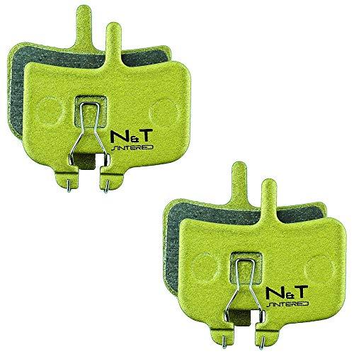 Noah et Theo 2 x Nt-bp007/SI Plaquettes Plaquettes de Frein à Disque Compatible Hayes MX-1, HFX-9 et Hfx-mag